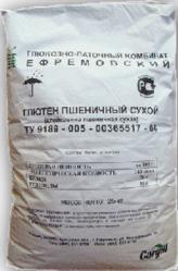 Глютен. пшеничная клейковина
