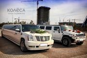 Лимузин Cadillac Escalade в городе Астана.