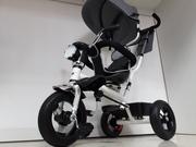 Новый трехколесный велосипед/Фара горит/Мелодии/Сидение поворачивается